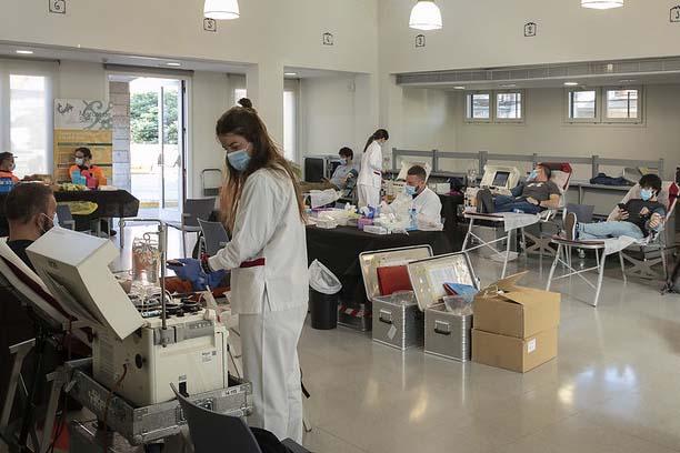 Sala de donacions de sang