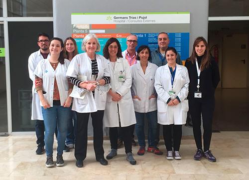 Membres del grup de recerca de l'ICO